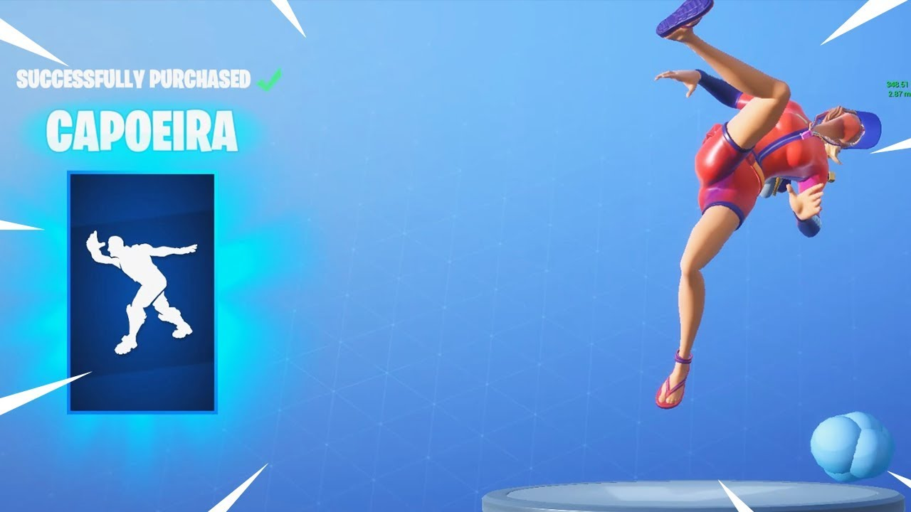 New Capoeira Emote Fortnite Item Shop Update August 24 Top