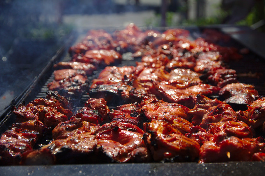 The difference between a cookout and a barbecue for Food for bar b q