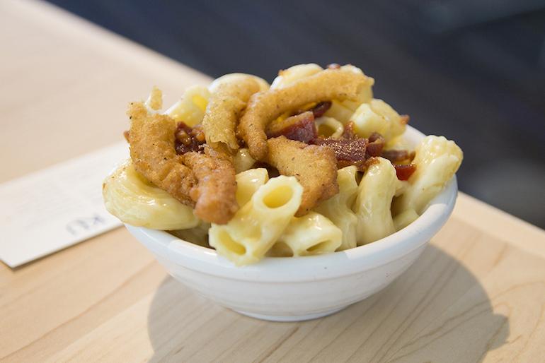 best dining hall food tortellini sauce