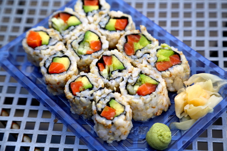 best dining hall food goody caviar