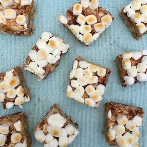 Make Your Kid Self Proud with These S'mores Rice Krispie Treats