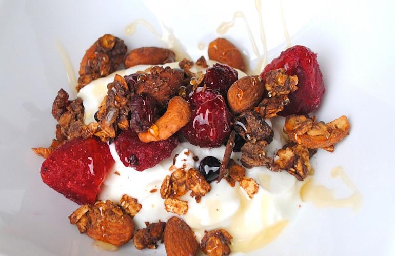 Katie Ledecky berry cream