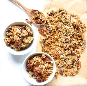Low Glycemic Index Nut and Seed Granola