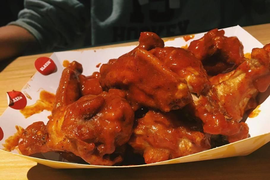 bww blazin sauce scoville