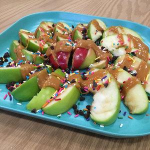 These Caramel Apple Nachos Won't Break Your Teeth