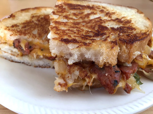 This Chorizo Tater Tot Grilled Cheese Can Feed an Army