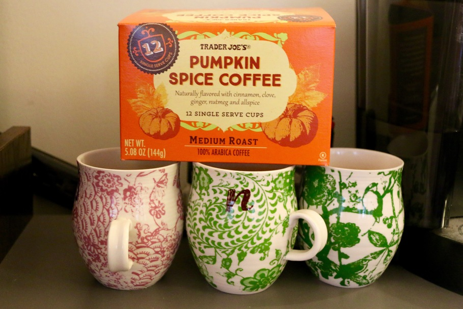 pumpkin trader joe's coffee tea