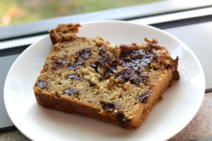 Forget All About Reese's With This Peanut Butter Chocolate Chip Banana Bread