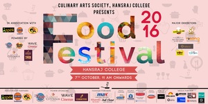 A Food Festival is Being Organized in Hansraj College and You Don't Want to Miss it