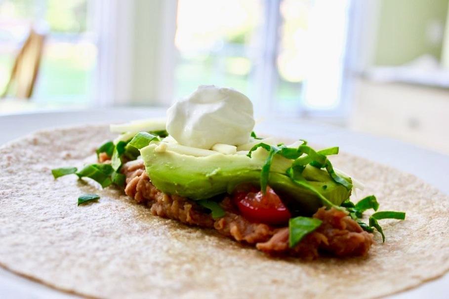 Healthy Dorm-Friendly Meals avocado