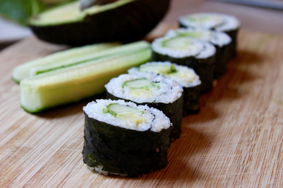 how to make sushi without nori
