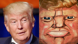 Scare Away Trick-Or-Treaters With a Donald Trump Pumpkin