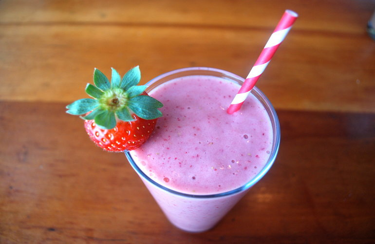 The Healthy Strawberry Milkshake Recipe All Strawberry Lovers Need