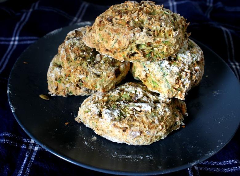 Zucchini herb meat