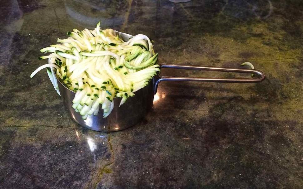 Zucchini courgette cucumber
