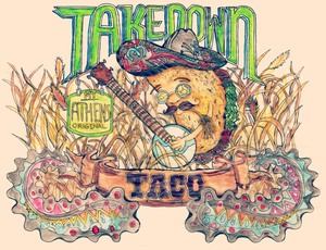 The 2nd Annual Taco Takedown Blesses Athens with Tacos, Beer, and Art