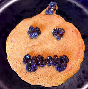 Turmeric Pumpkin-Shaped Pancakes Are Too Good to Only Eat in Fall