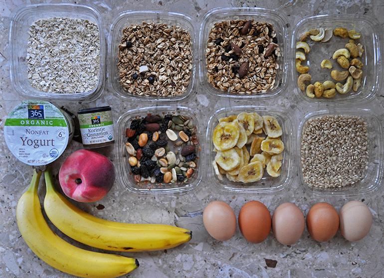 cereal, corn, wheat, muesli, granola