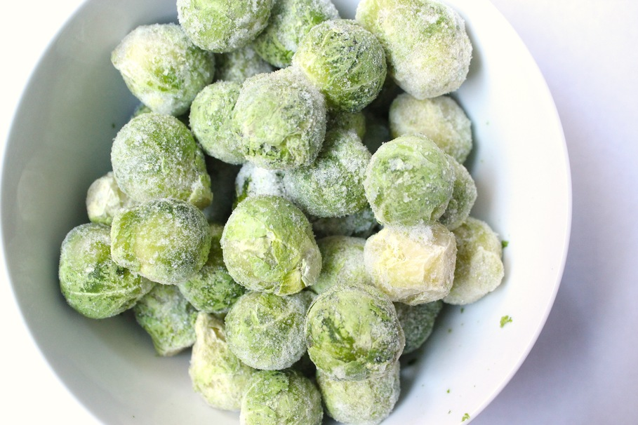 How to defrost frozen brussel sprouts