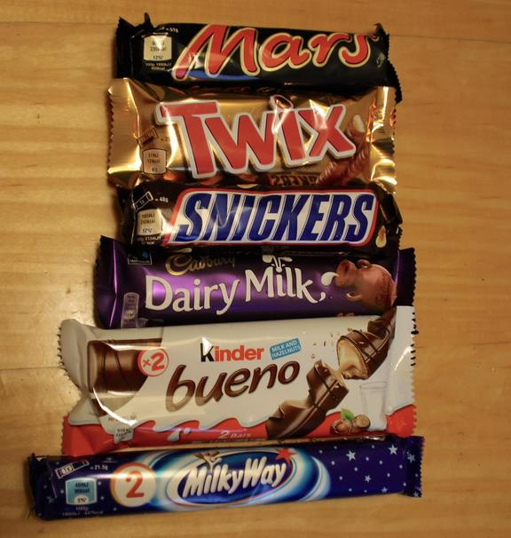 A Comparison Of Lidl Chocolates To Name Brand Chocolate Bars