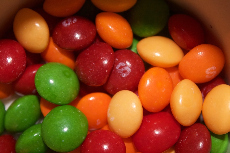 Why the Hell Are There No Blue Skittles?