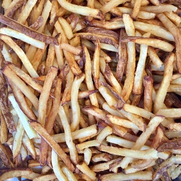 potato, salt, french fries
