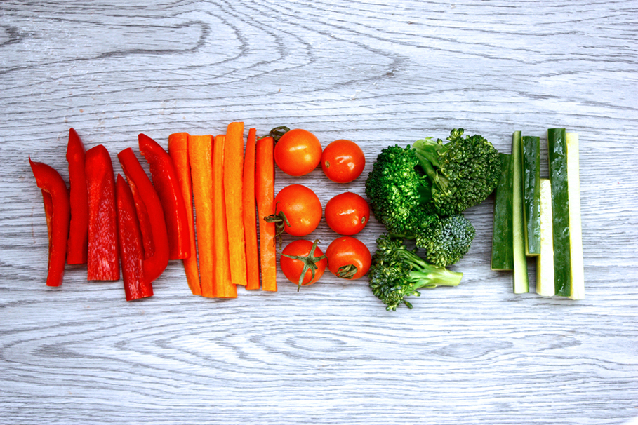 pepper, carrot, tomato, vegetable