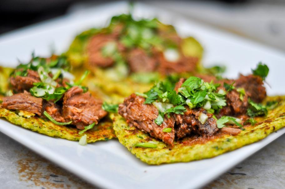 25-Calorie Cauliflower Tortillas