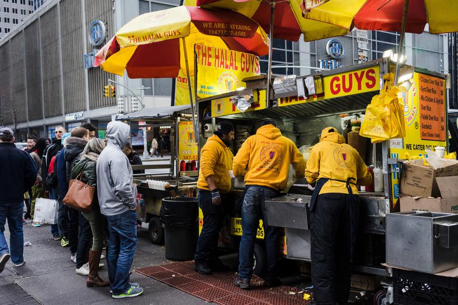 Halal Chicago Hot Dog