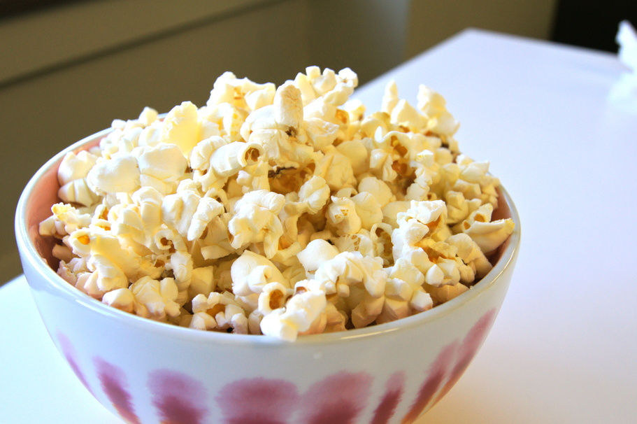 Homemade Popcorn & Toppings