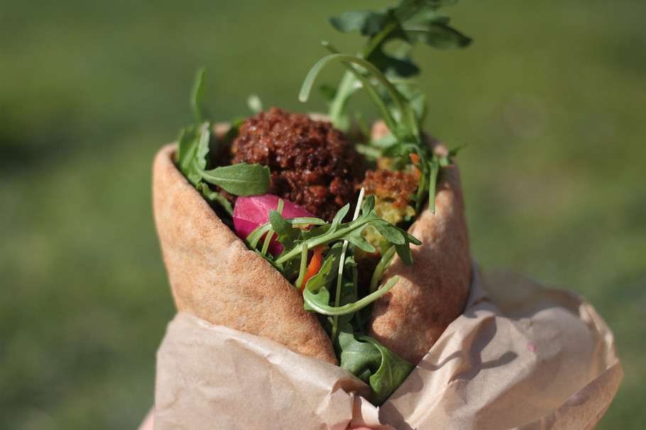 Don't Think, Try Falafel Inc. in Georgetown