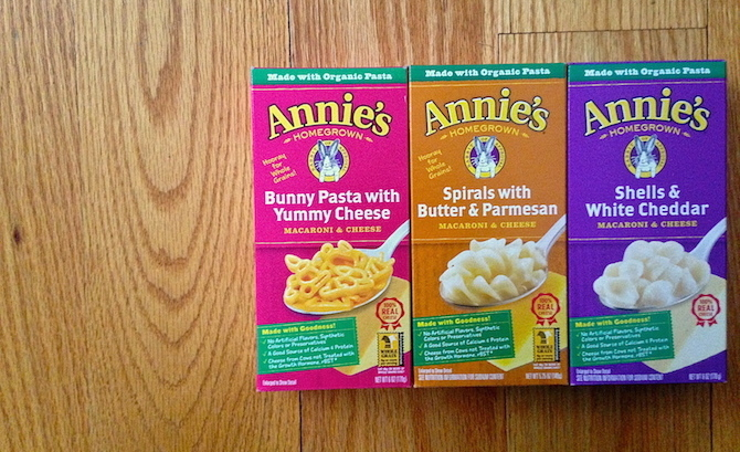 How to make annies mac and cheese healthier