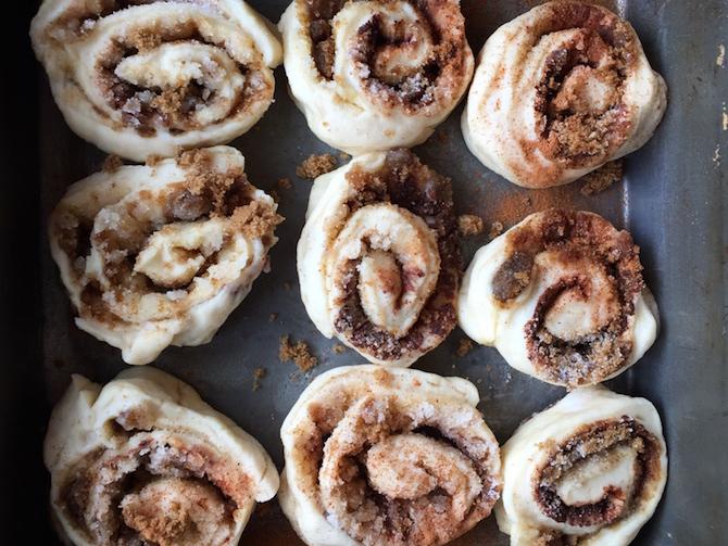 Fluffy Homemade Cinnamon Rolls