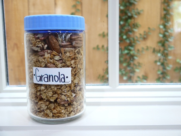 This granola recipe by alton brown is better than the store bought recipe forumfinder Gallery