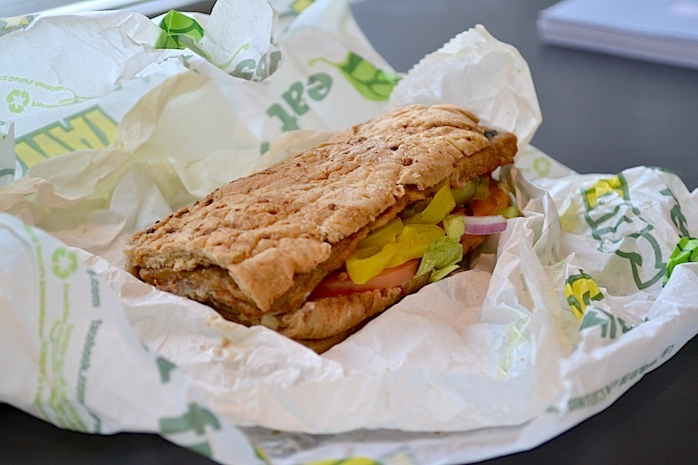 The 10 Healthiest Subway Sandwiches You Should Be Buying