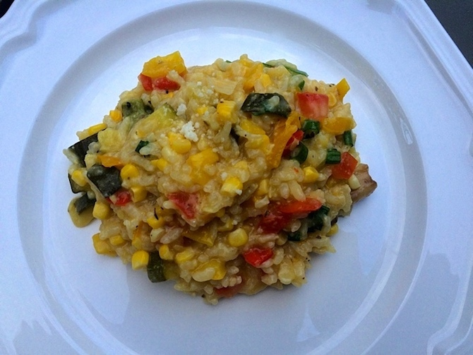 This Vegetable Risotto Recipe Is Perfect For Summer