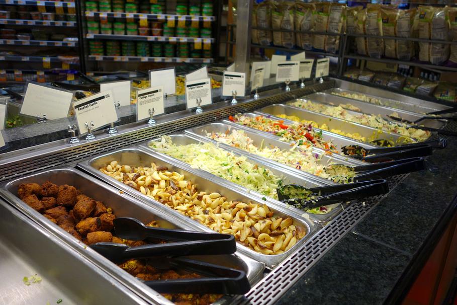 Amazon Whole Foods Prepared Foods Hot Bar