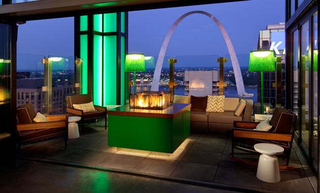 Rooftop Restaurants Downtown St Louis