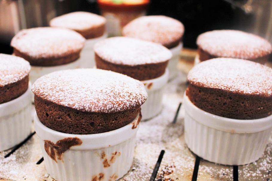 This Dark Chocolate Soufflé Will Impress Literally Everyone