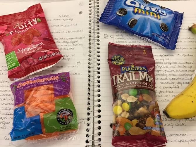 A Guide to Vegan Snacks in the WashU Olin Library Vending Machine