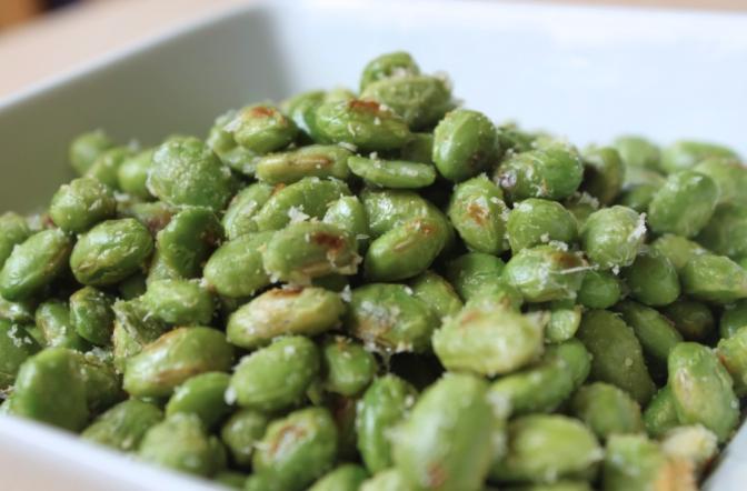 fava beans, salad, edamame, pea, vegetable, legume