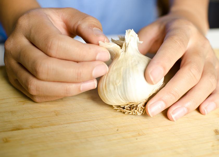 how to get rid of garlic taste