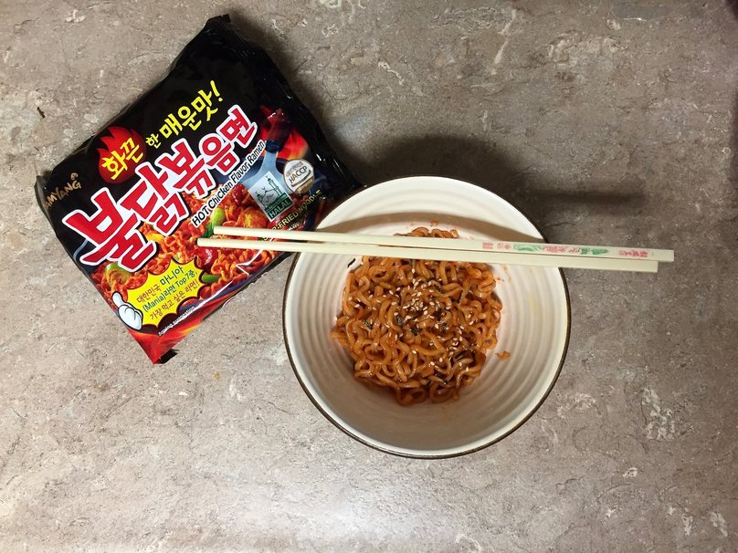 We Tried the Fire Noodle Challenge and This Is What Happened