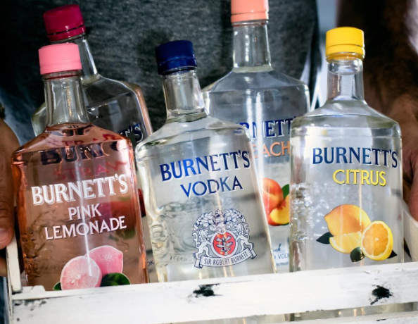 All Of The Burnetts Vodka Flavors Ranked