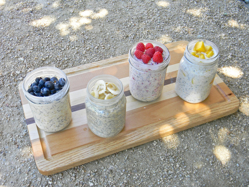 15 Dessert Overnight Oats Inspired By Your Favorite Sweets