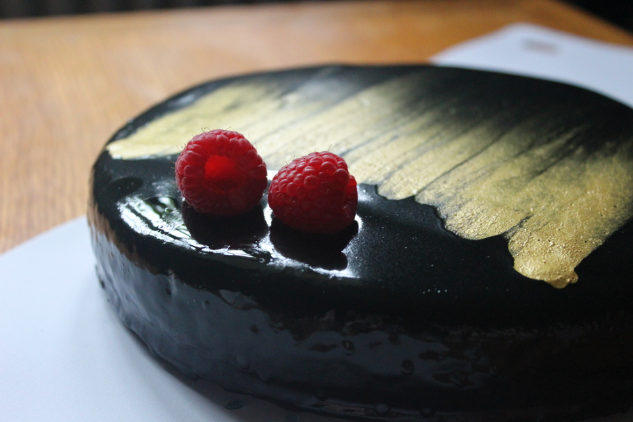 Literally Dazzle Your Date With This Mirror Glaze Cake