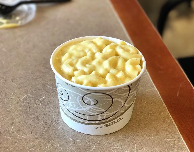 milk, macaroni, cheese