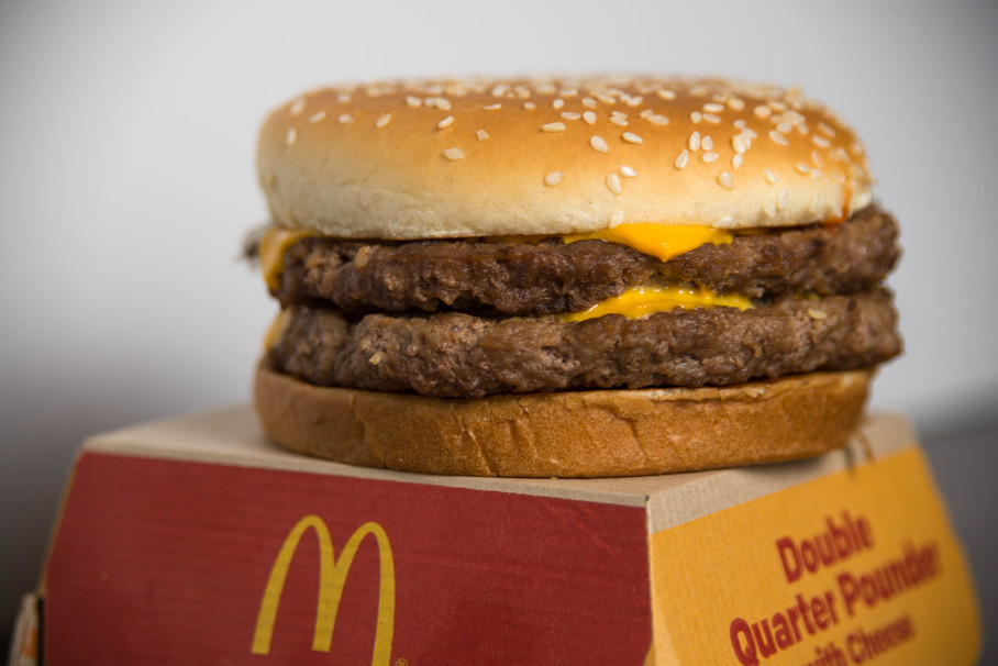 the most caloric items on mcdonalds menu