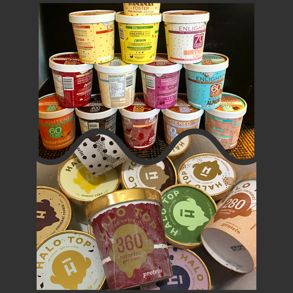 Is Enlightened The New Halo Top Guess Ill Have To Taste Them All And Find Out