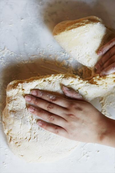 Pâte, blé, farine, pain
